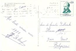 CARTOLINA PER BELGIO - 1971-80 Storia Postale