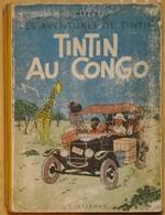 TINTIN AU CONGO Edition 1946 - Tintin
