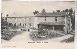 Cpa 52 Villegusien Moulin Et Scierie - Other Municipalities