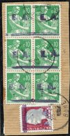 Etat Algérien - EA - Alger - Oblitéré - Fragment - Bône - RP - 1962 - Gebruikt
