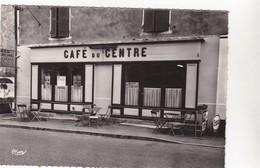 Cpa 31 LA ROCHE VINEUSE CAFE DU CENTRE CHEZ POPPY Papier Glacé - Frankrijk