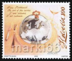 Switzerland - 2005 - Europa CEPT - Gastronomy - Mint Stamp - Ungebraucht