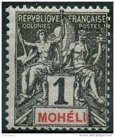 Moheli (1906) N 1 * (charniere) - Neufs