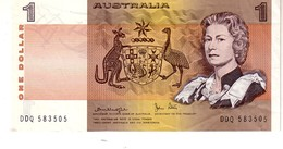 Australia P.42c 1  Dollar  1983  VF - 1966-72 Reserve Bank Of Australia