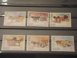 IPORTOGALLO - 1979 CARRETTI 6 VALORI  - NUOVI(++) - 1910 - ... Repubblica