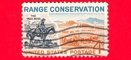 USA - STATI UNITI - Usato - 1961 - Conservazione Dei Campi - The Trail Boss And Modern Range - 4 - Stati Uniti