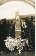 CHAMPIGNEUL SUR VENCE. Le Monument Aux Morts (carte Photo) - Francia