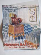 """Groupe électrogène D'éclairage  """"Type 1K"""" -  Coupure De Presse De 1921 - Projecteurs"""