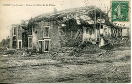 CORNAY. Ruines Du Café De La Place - Francia