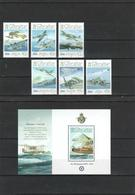 Gibraltar - 2008 - Airplane Set + S/S - MNH (**) - Face Value 4,62 GBP - Airplanes