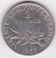 2 Francs Semeuse 1902, En Argent - France
