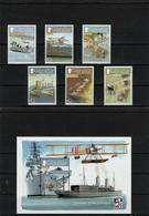 Gibraltar - 2009 - Airplane Set + S/S - MNH (**) - Face Value 4,52 GBP - Airplanes