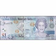TWN - CAYMAN ISLANDS 38c - 1 Dollar 2010 Prefix D/3 UNC - Isole Caiman