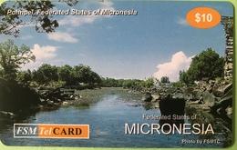 """MICRONESIE  -  Prepaid  -  """" FSMTelCARD  """"  -  """" Pohnpei """"  -  $10 - Micronésie"""