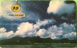"""MICRONESIE  -  Prepaid  -  """" FSMTelCARD  """"  -   $5 - Micronésie"""