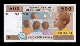 Central African Camerun 500 Francs 2002 (2018) Pick 206Ue SC UNC - Camerún