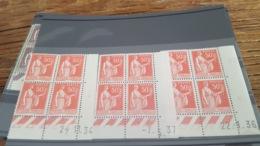 LOT 490454 TIMBRE DE FRANCE NEUF** LUXE   COIN DATE - Coins Datés