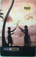 """MICRONESIE  -  Prepaid  -  """" FSMTelCARD  """"  -   $20 - Micronésie"""