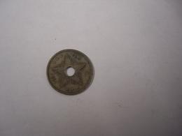 CONGO BELGE , 10 CENTIMES 1911 , ALBERT I - BELGISCH CONGO - 1909-1934: Albert I