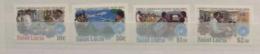 St. Lucia 1983 World Communications Year Set And Minisheet MNH - St.Lucia (1979-...)