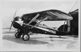 CPA. Carte-Photo > Entre Guerres > ISTRES-AVIATION - Le MORANE De DETROYAT - TBE - 1919-1938: Entre Guerres