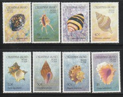 CHRISTMAS ISLAND - N°373/80 ** (1992) Coquillages / Shells - Christmas Island