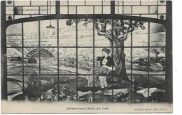 La Bellevilloise Fondée En 1877 - Vitrail De La Salle Du Café - Arrondissement: 20