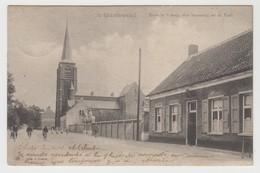 's-Gravenwezel  's Gravenwezel  Schilde   Zicht In 't Dorp, Den Steenweg En De Kerk - Schilde