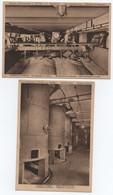 Lot CPA FABRIQUE LIQUEURS FRYNS HASSELT, Distillerie Malteries, Retourneur, Sillos Pour Malt Usine, Métier, Artisanat - Hasselt