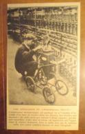 """Eclairage Stroboscopique """"Stroborama Séguin""""  Contrôle De Filature  -  Coupure De Presse De 1928 - Projectoren"""