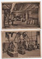 Lot CPA FABRIQUE LIQUEURS FRYNS HASSELT, Distillerie Malteries, TRIAGE GRAINS, APPAREILS, Usine, Métier, Artisanat - Hasselt