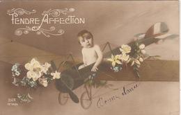 """Enfant Sur Un Avion """"Tendre Affection """" - Escenas & Paisajes"""