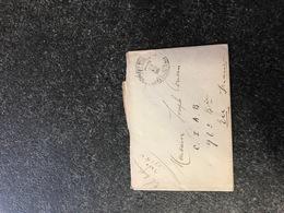 Belgium World War I WWI Letter To Joseph Cousin France Legerposterij Service Militaire Postes Militaires - Armée Belge