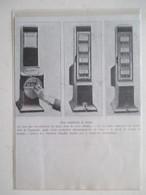 Machine à Voter à Jetons  -  Coupure De Presse De 1910 - France