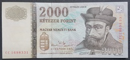 OA - Hungary 2000 Forint Banknote 2004 #CC 1698331 A-UNC / UNC - Bahrein