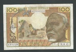 CONGO 100 FRANCS 1963  F+ - Congo