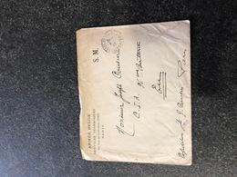 Belgium World War I WWI Letter To Joseph Cousin 1917 Legerposterij Service Militaire Postes Militaires - Armée Belge