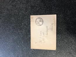 Belgium World War I WWI Letter To Joseph Cousin London 1917 Legerposterij Service Militaire Postes Militaires - Armée Belge