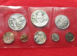 Cayman Island Set  1 5 10 25 50 Cents 1 2 5  $ 1972 - Cayman Islands
