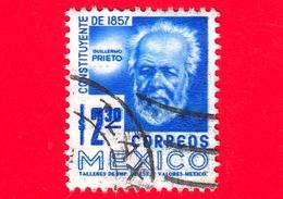 MESSICO - Usato - 1975 - Costituzione Del 1857 - Guillermo Prieto - 2.30 - Messico
