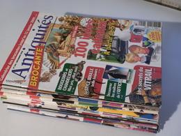 "Revues ""Antiquités Brocante"" -année 2008 Complète -11 Numéros -french Newspaper About Antiquities -11 Editions From 2009 - Collectors"