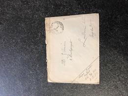 Belgium World War I WWI Letter To Joseph Cousin London 1916 Legerposterij Service Militaire Postes Militaires - [OC38/54] Occ. Belg En All.