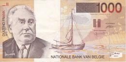 BILLETE DE BELGICA DE 1000 FRANCOS DEL AÑO 1997  (BANKNOTE) - [ 2] 1831-... : Royaume De Belgique