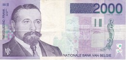 BILLETE DE BELGICA DE 2000 FRANCOS DEL AÑO 1994  (BANK NOTE) - [ 2] 1831-... : Koninkrijk België