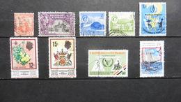 Amérique > Trinité & Tobago  9 Timbres Oblitérés - Trinité & Tobago (1962-...)
