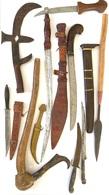 Ensemble D'armes Ethniques - Knives/Swords