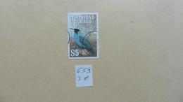 Amérique > Trinité & Tobago   Timbre N° 659 Oblitéré - Trinité & Tobago (1962-...)