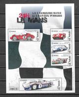 """België 2019 Velletjs  """"  LE MANS De 5 Belgische Winnaars  """" (**) - Unused Stamps"""