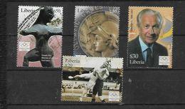 Olympische Spelen 2004 , Liberia -  Zegels  Postfris - Summer 2004: Athens