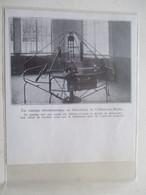 CHALONS SUR MARNE - Manège Aérodynamique D'essais De HELICES D'AVIONS -  Coupure De Presse De 1933 - GPS/Radios